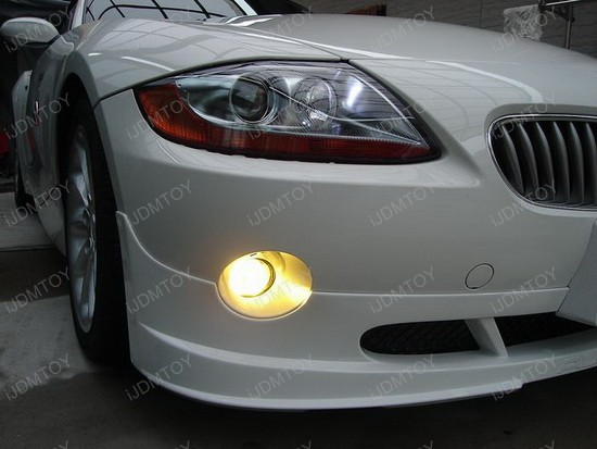 BMW - Z4 - Golden - Yellow - Xenon - Fog - Lights - 1